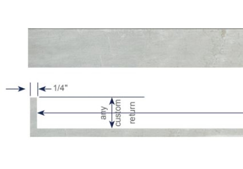 Modern Cornice - Single Zip Track