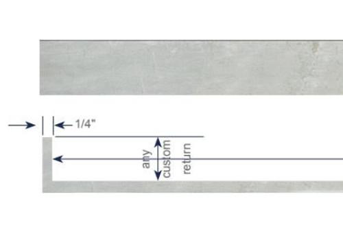 Modern Cornice - Double Ripplefold