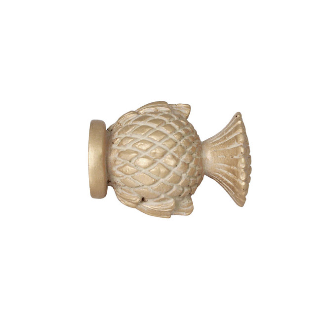 Short Thistle Finial 2 in. Scale