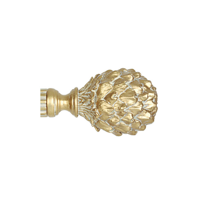 French Artichoke Finial 2 in. Scale
