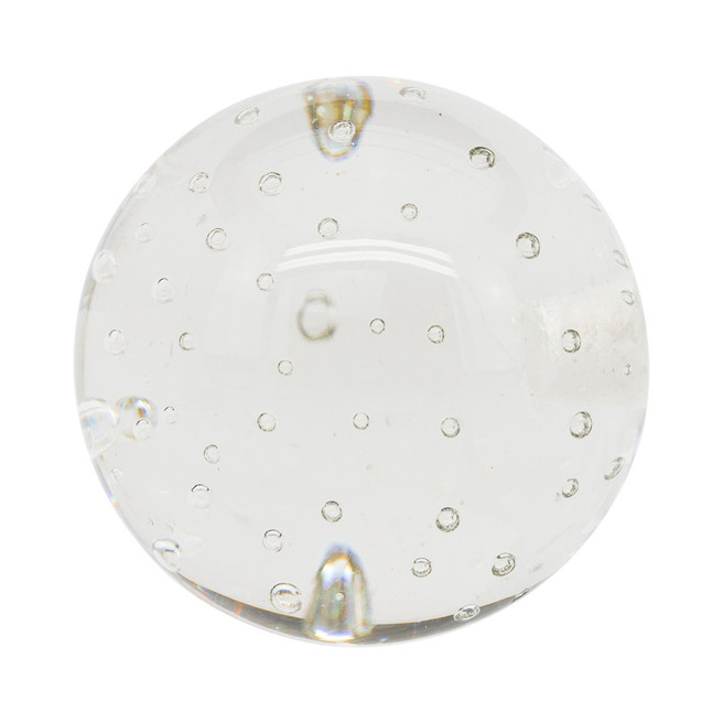 Glass Bubble Ball Finial 2 in. Scale