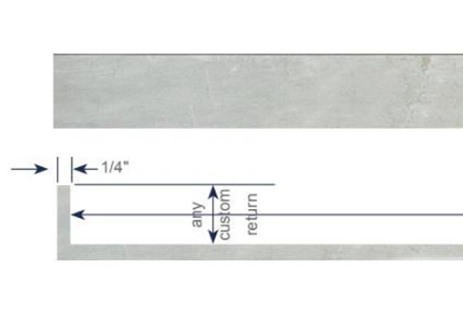 Modern Cornice - Single Ripplefold