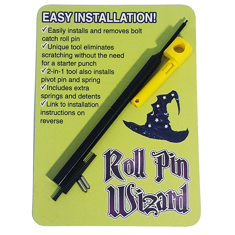 Roll Pin Wizard - AR-15 bolt catch installation tool