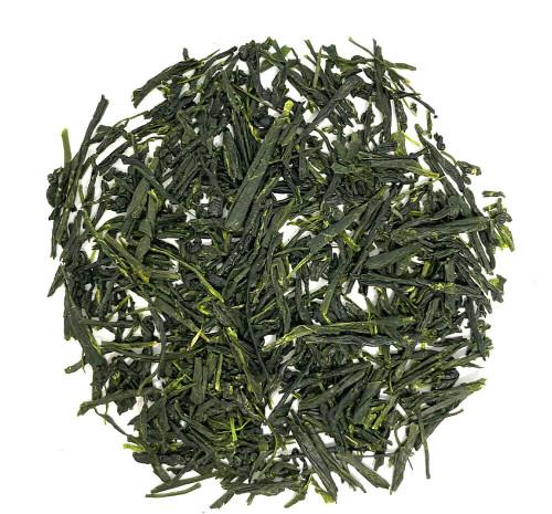 Shade-grown Japanese green tea with an abundance of umami notes.