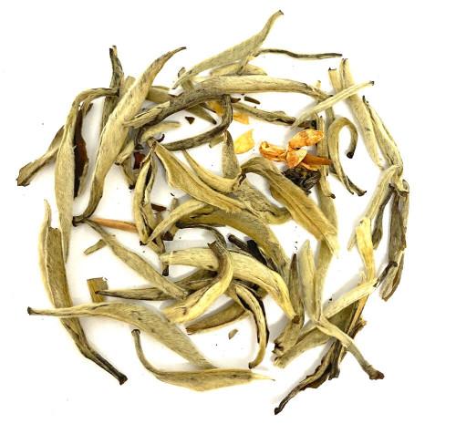 Best Chinese Jasmine scented white tea buds.