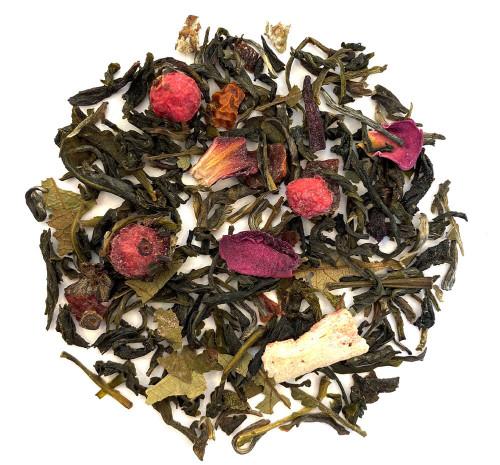 Youthberry like tea, tropical fruit green tea, teavana