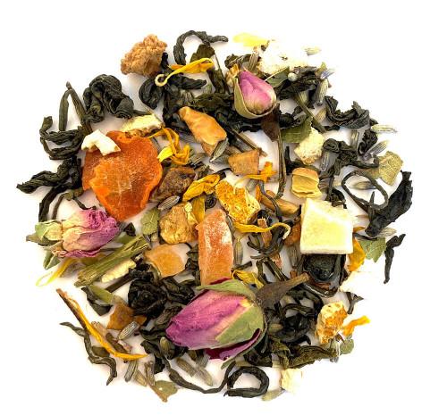 Lavender based green tea.