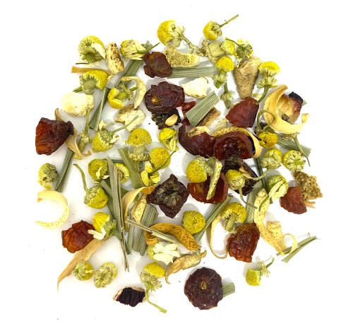 Best herbal chamomile blend to aid relaxation and sleep.