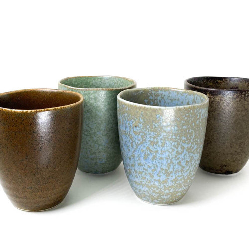 Inspired by the seasonal changes of the Pacific Northwest forest, these beautiful cups range in an array of colors. Perfect as a gift. Box included.