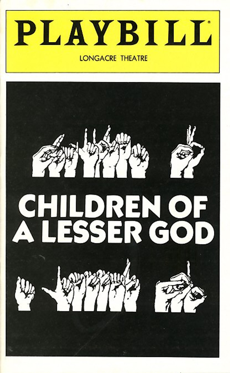 Children Of A Lesser God Is Play By Mark Medoff Published In 1980 Focusing
