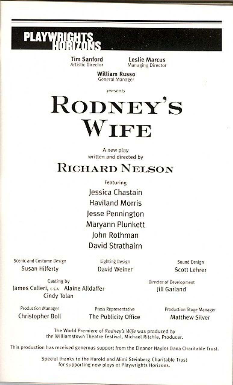 Haviland Morris rodney's wife