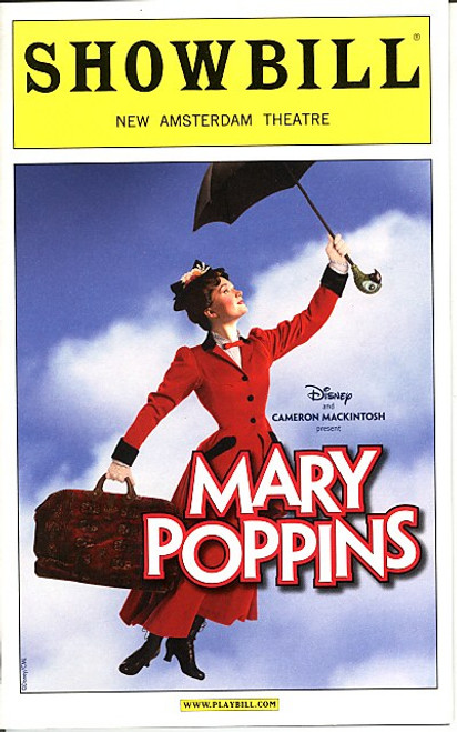 Mary Poppins (Nov 2010) Laura Michelle Kelly, Gavin Lee New Amsterdam Theatre