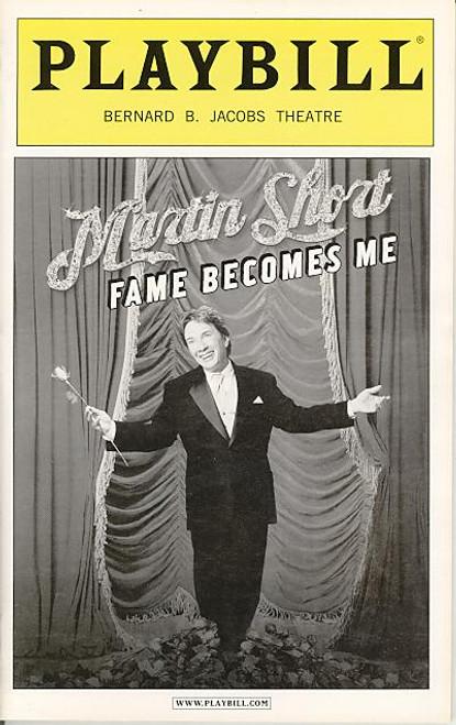 Martin Short Fame Becomes Me (Oct 2006) Martin Short - Bernard B Jacobs Theatre