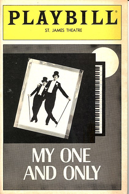 "My One and Only (Mar 1984) Twiggy, Tommy Tune, Charles ""Honi"" Coles, Bruce McGill St James Theatre"