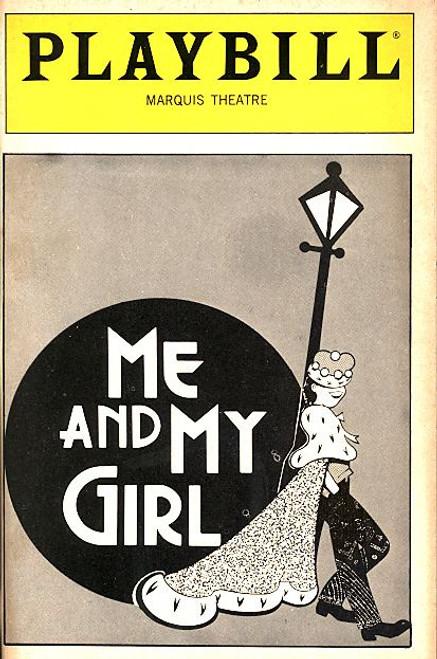 Me and My Girl (Mar 1989) James Brennan, Ellen Foley, Jay Garner, Syvia O'Brien Marquis Theatre