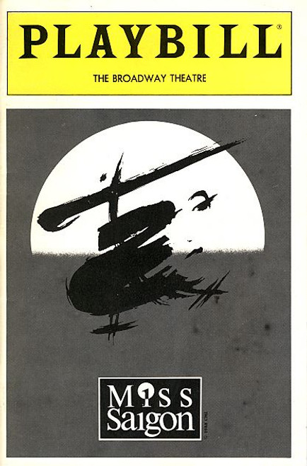 Miss Saigon (Jul 1991) OBC Jonathan Pryce, Lea Salonga, Willy Falk, Barry K Bernal Broadway Theatre