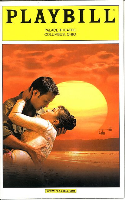 Miss Saigon (Dec 2004) Jennifer Paz, Johann Michael Camat, Katie Boren Palace Theatre Columbus Ohio