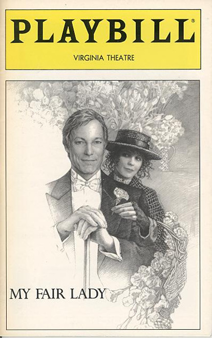 My Fair Lady (Mar 1994) Richard Chamberlain, Juliam Holloway, Paxton Whitehead, Dolores Sutton - Virginia Theatre