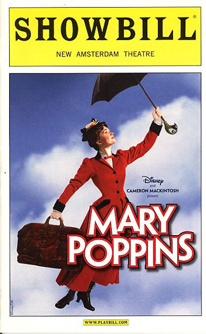Mary Poppins (Oct 2010) Laura Michelle Kelly, Gavin Lee, Karl Kenzler, Megan Osterhaus New Amsterdam Theatre.