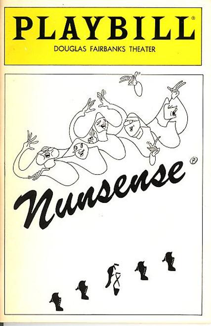 Nunsense (Jun 1988) Helen Baldassare, Julie J Hafner, Susan Gordon-Clark Douglas Fairbanks Theatre