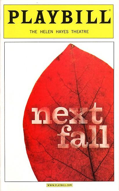 Next Fall (March 2010) Patrick Breen, Sean Dugan,Maddie Corman Helen Hayes Theatre