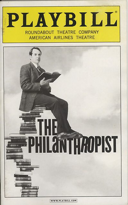 The Philanthropist (May 2009) Matthew Broderick, Anna Madeley, Tate Ellington American Airlines Theatre