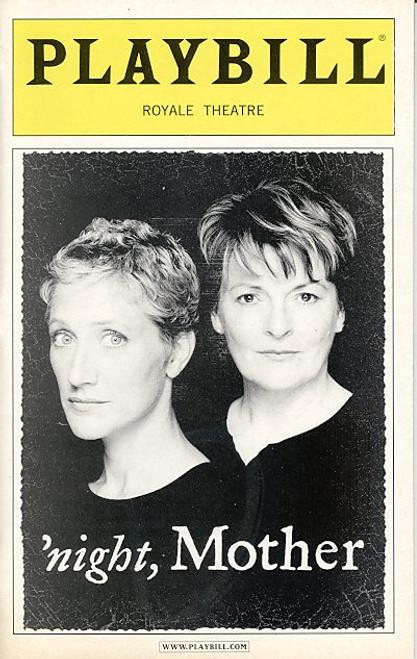 Night, Mother (Nov 2004) Brenda Blethyn, Edie Falco - Royale Theatre