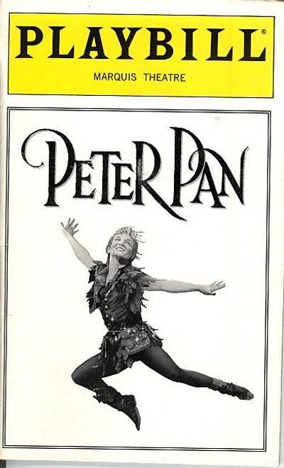 Peter Pan (Nov 1998) Cathy Rigby, Paul Schoeffler - Marquis Theatre