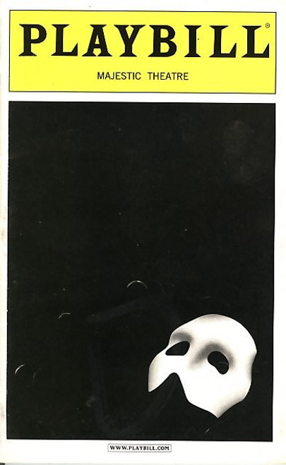 Phantom of the Opera (Sept 1995) Davis Gaines, Tracy Shayne Majestic Theatre - Broadway