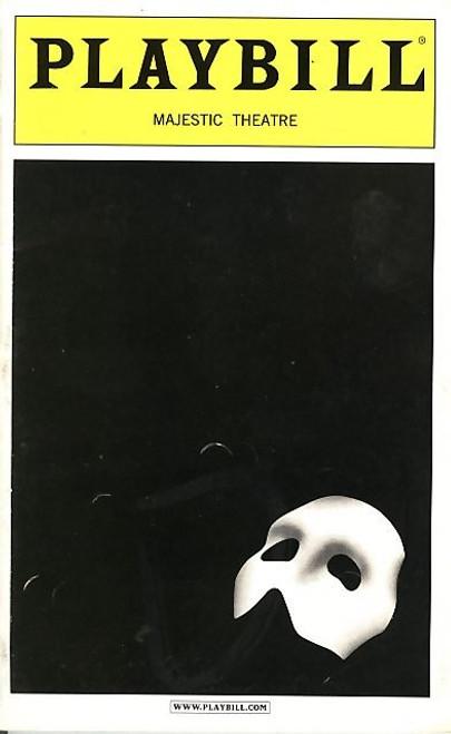 Phantom of the Opera (Sept 1995) Davis Gaines, Tracy Shayne Majestic Theatre - Broadway