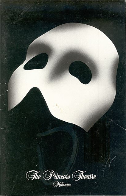Phantom of the Opera (1990) Rob Guest, Marina Prior Princess Theatre Melbourne Australia