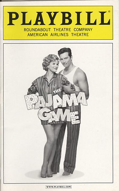 The Pajama Game (Mar 2006) Harry Connick jr, Kelli OHara American Airlines Theatre