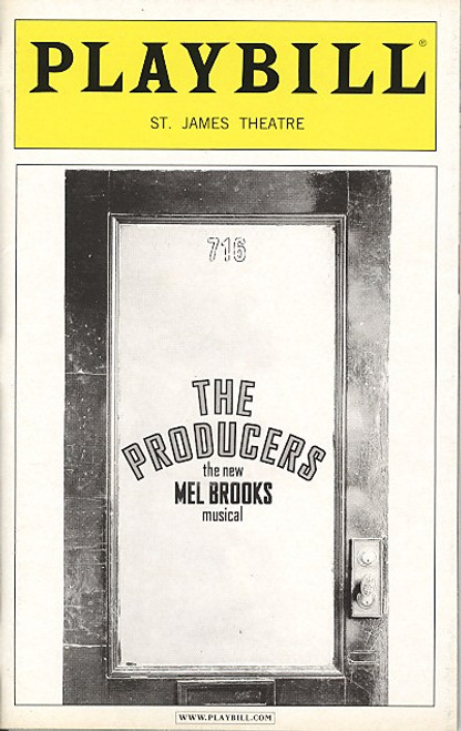 The Producers (May 2005) Richard Kind, Roger Bart St James Theatre