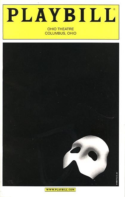 Phantom of the Opera (Aug 2005) Gary Mauer, Marie Danvers, Michael Shawn Lewis Ohio Theatre Columbus