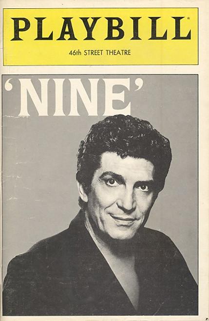 Nine (Jun 1983) Sergio Franchi, Eileen Barnett,Taina Elg Forty-Sixth Street Theatre