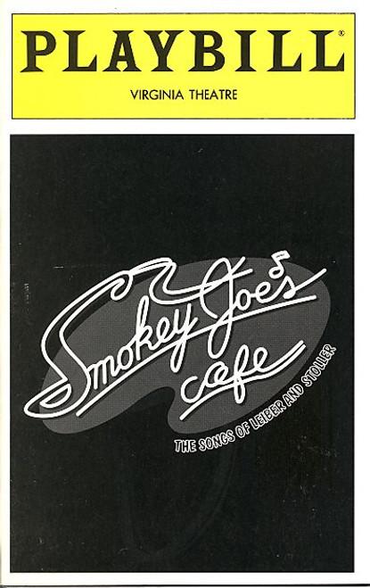 Smokey Joes Cafe (Dec 1995) Ken Ard, Adrian Bailey, Brenda Braxton Virginia Theatre