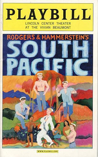 South Pacific (Musical) April 2008 Matthew Morrison, Kelli O'Hara Lincoln Center Theatre