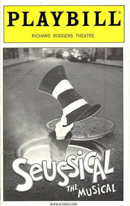 Seussical the Musical (Jan 2001) Kevin Chamberlin, Janine LaManna Richard Rodgers Theatre