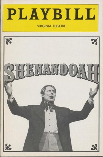 Shenandoah (Aug 1989) John Cullum, Tracey Moore, Camilla Scott Virginia Theatre