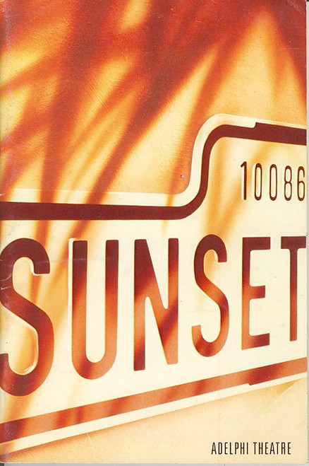 Sunset Boulevard (UK 1993) Patti LuPone - Kevin Anderson Adelphi Theatre