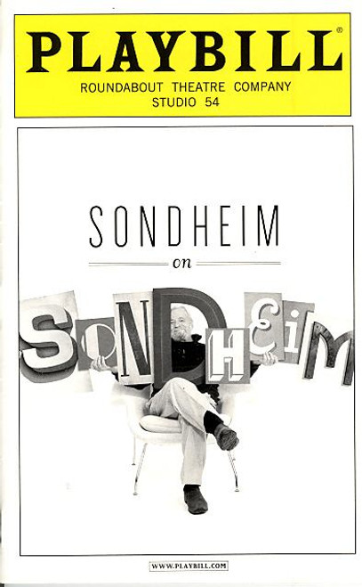 Sondheim on Sondheim ( Apr 2010)   Barbara Cook, Tom Wopat - Studio 54