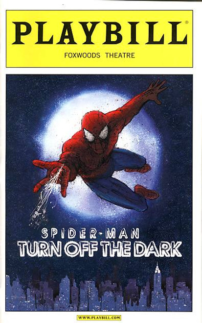 Spider-Man Turn off the Dark MK 1 (Jan 2011) Jennifer Damiano, Reeve Carney, Patrick Page Directed by Julie Taymor