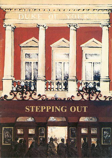 Stepping Out (1984) Amanda Barrie, Wendy Allnott, Jelena Budimir Duke of York's Theatre London