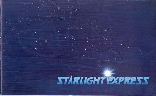 Starlight Express  (Musical) Lon Satton, Maynard Williams 1991-92 Season Apollo Victoria Theatre