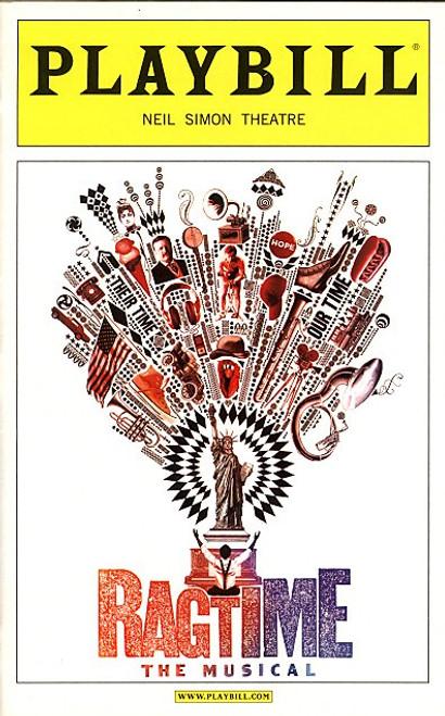 Ragtime (Musical) Nov 2009  Ron Bohmer, Quentin Earl Darrington, Christiane Noll  Neil Simon Theatre.