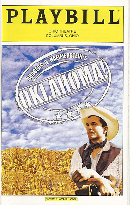 Oklahoma (Musical) Brandon Andrus, Gordon Gray, Thomas Hallett, Tom Lucca  Ohio Theatre Columbus