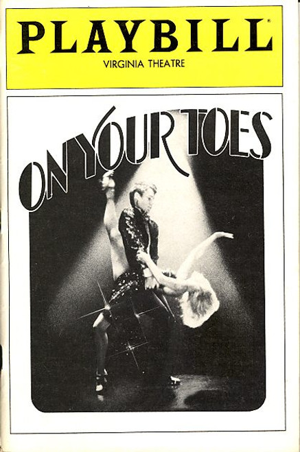On Your Toes (Musical) Natalia Makarova, George S Irving, Dina Merrill Virginia Theatre