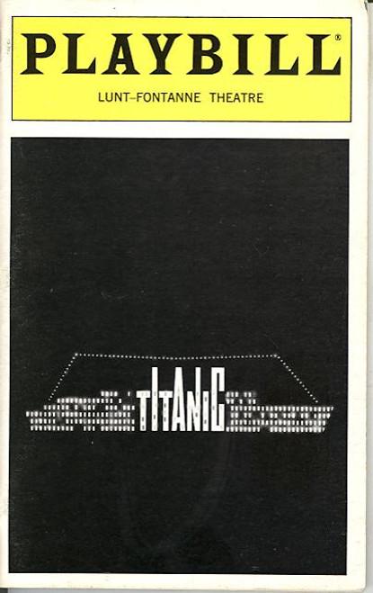 Titanic (Musical), Michael Cerveris, Victoria Clark, Brian d'Arcy James - Lunt Fontanne Theatre (Jun 1997)