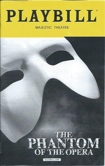 Phantom of the Opera Broadway Playbill Sept 2017 James Barbour – Ali Ewoldt – Rodney Ingram - Cover