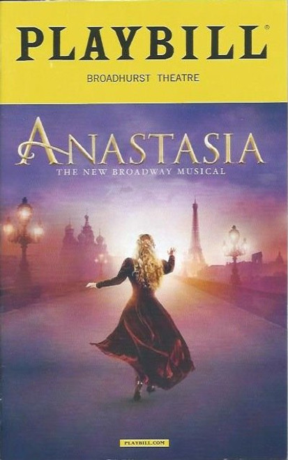 Anastasia is a musical with music and lyrics by Lynn Ahrens and Stephen Flaherty, and a book by Terrence McNally. Based on the 1997 film of the same name, the musical tells the story of the legend of Grand Duchess Anastasia Nikolaevna of Russia, which claims that she in fact escaped the execution of her family